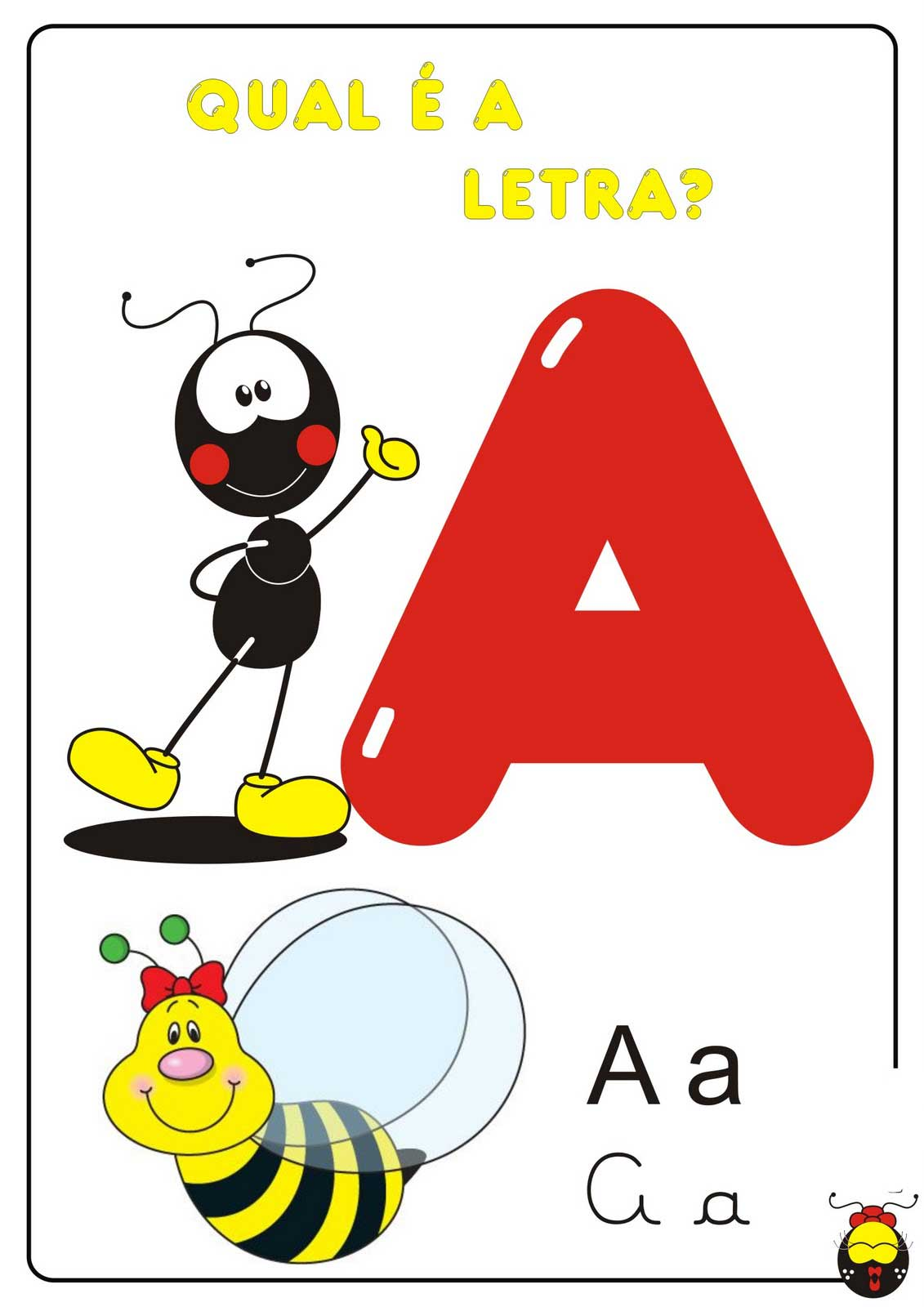 Leitura De Imagens Alfabeto Colorido So Escola