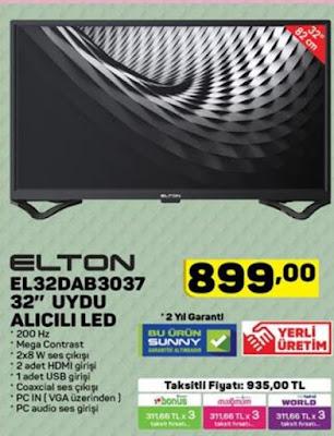 Elton EL32DAB3037 32'' LED Televizyon