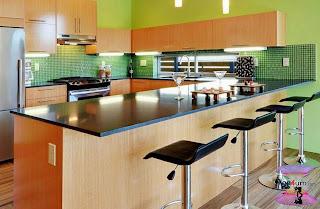 اشكال مطابخ مودرن امريكانى Beautiful And Modern Kitchens