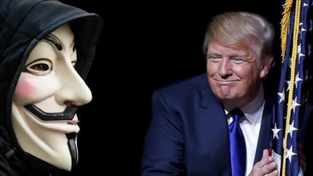 Anonymous insta a perjudicar a la Administración Trump