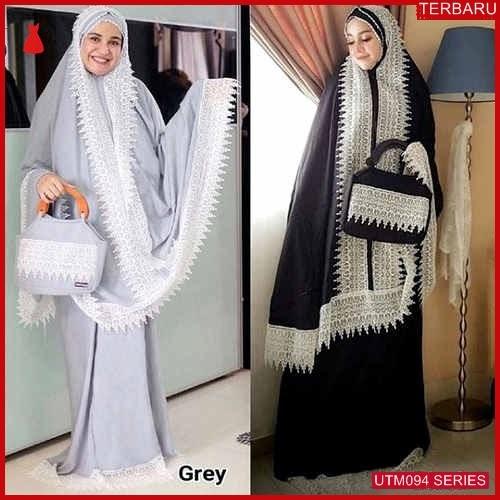UTM094S96 Baju Sl Muslim Alneira Dewasa Mukena UTM094S96 05E | Terbaru BMGShop