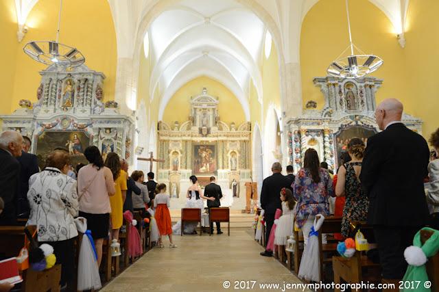 photo intérieur église de St Hilaire de Riez