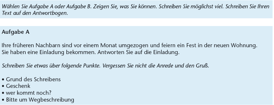 Briefe Schreiben Deutsch Lernen B1 Dede14