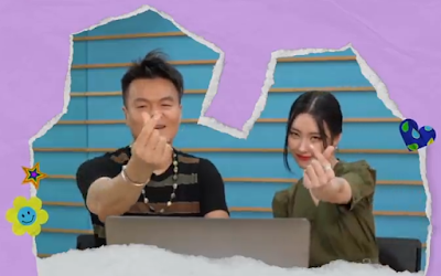 Sunmi pporappippam JYP reaction video