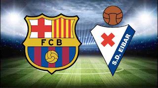 لعبة برشلونة ايبار مباشر