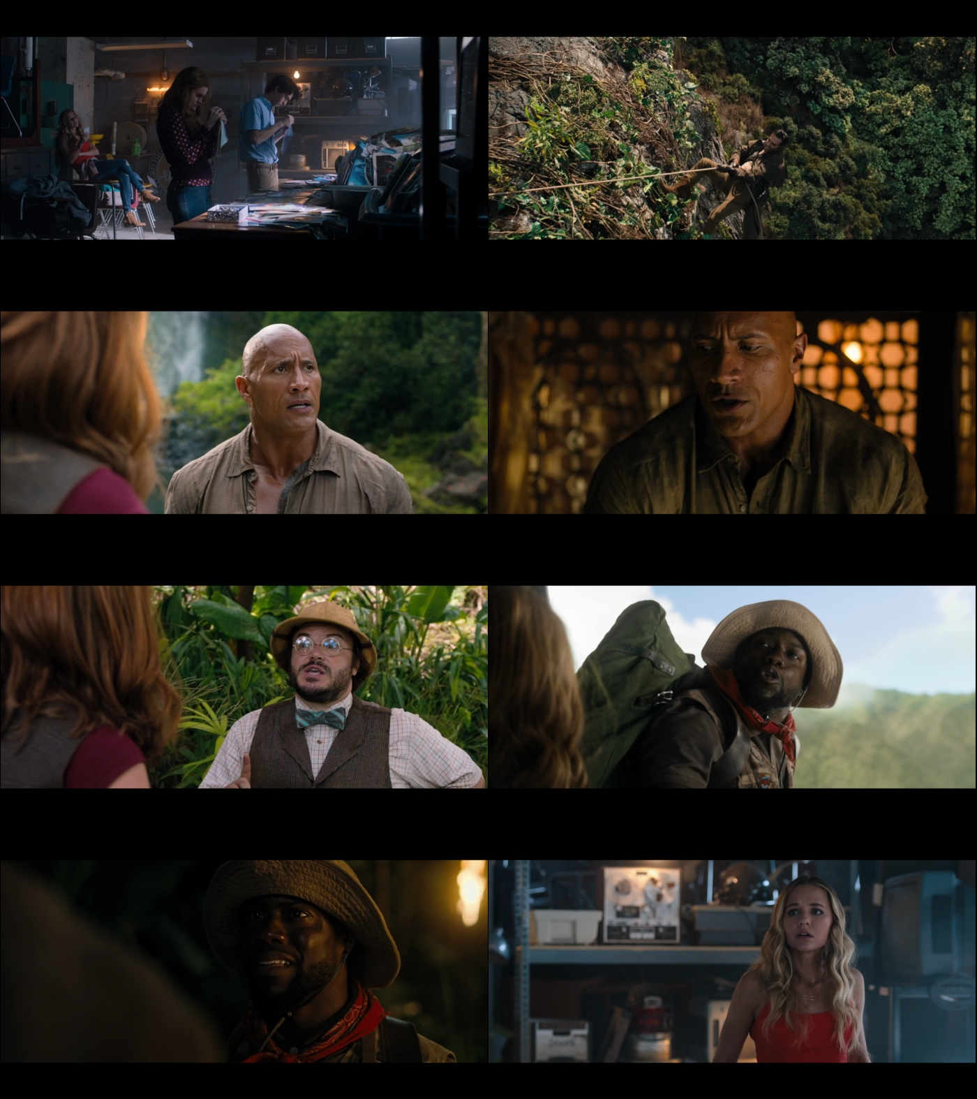 Jumanji en la selva 1080p latino
