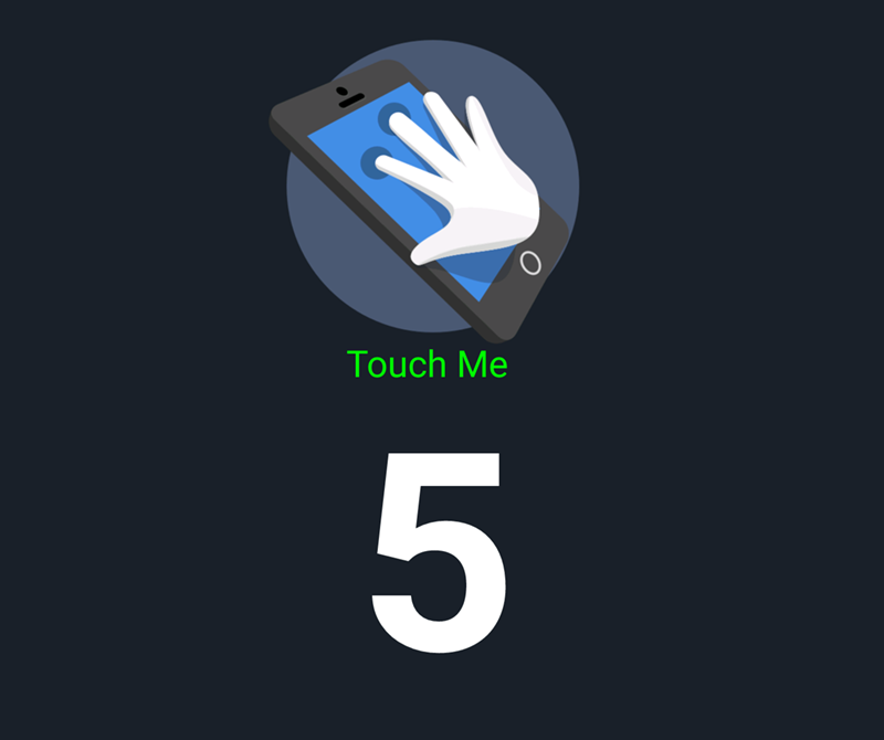 There's the usual 5 points of touch