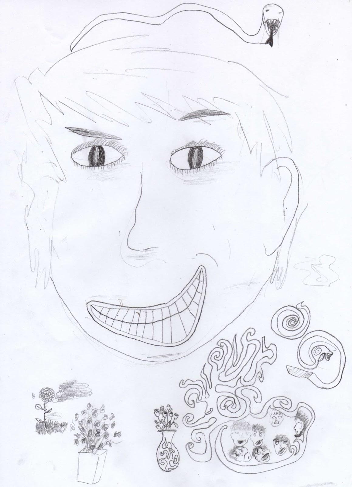 Le dessin d un jeune gar§on dont j ai oublié le prénom