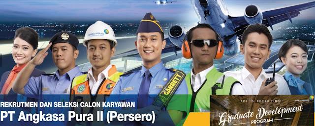 Lowongan Kerja PT Angkasa Pura II (Persero) GDP IT Tahun 2017