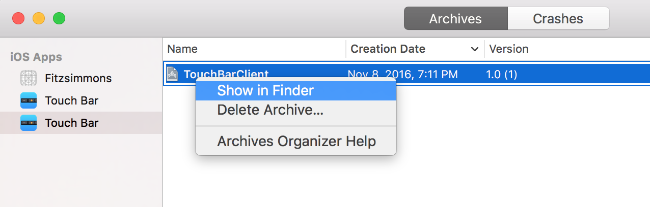 How to Export an Xcode Project to an IPA file