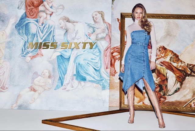 Miss Sixty SS2019 ad campaign feat. Candice Swanepoel by Daniel Jackson