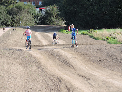 kids cycling on milton common
