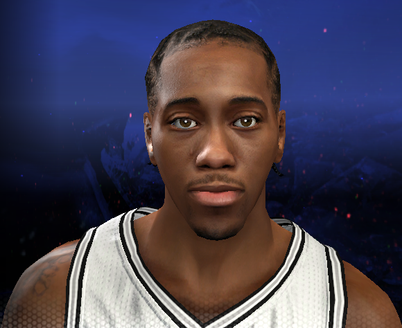 NBA 2K14 Kawhi Leonard Face Patch