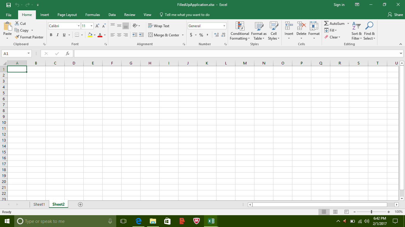 Digital India Beginner Ms Excel Working In Multiple