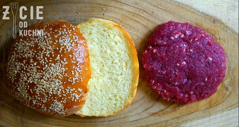 burgery, bulki do burgerow, zycie od kuchni