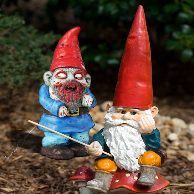 Speak Of Devil Day In Life Garden Gnome