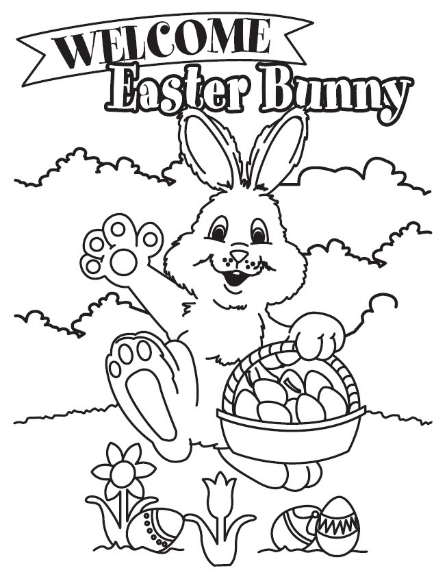 Infotainmentz Easter Coloring Pages To Print