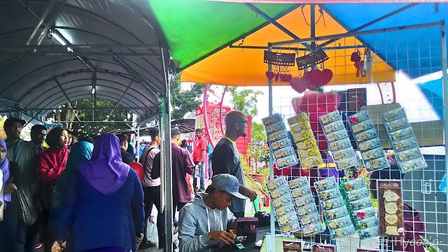 penang hill, souvenir stalls