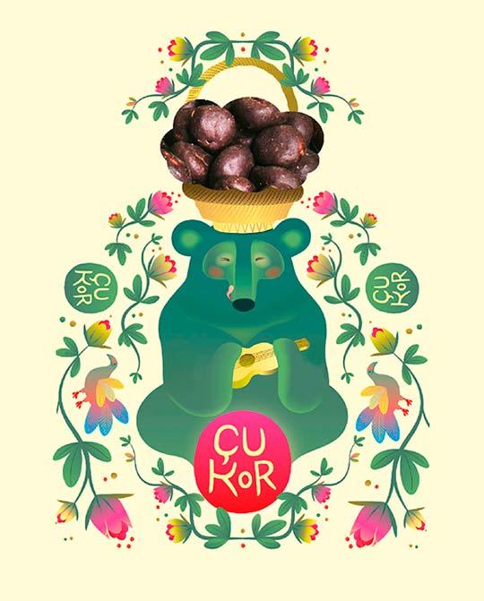 Ilustración de Stiliana Mitzeva