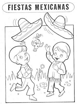 Colorear 5 de mayo para niños