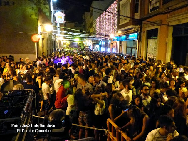 Campanadas de fin de año, agosto, Vegueta 2016, Las Palmas de Gran Canaria