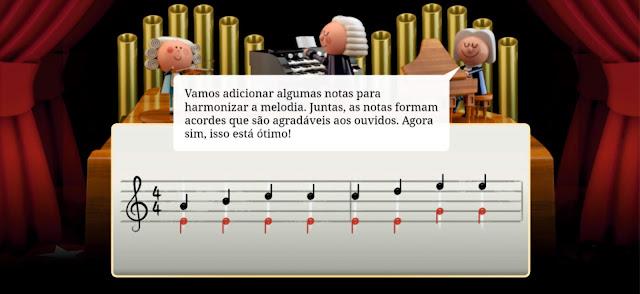 Criando música através do Doodle da Google
