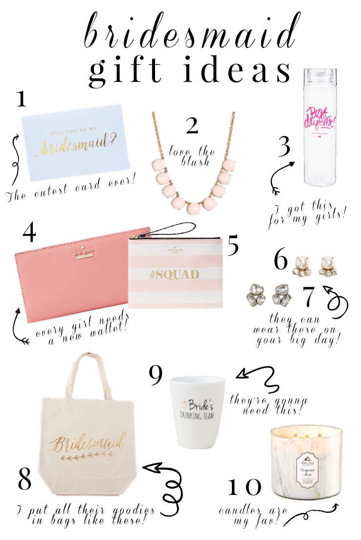 Bridesmaid Gift Ideas A Classy Fashionista