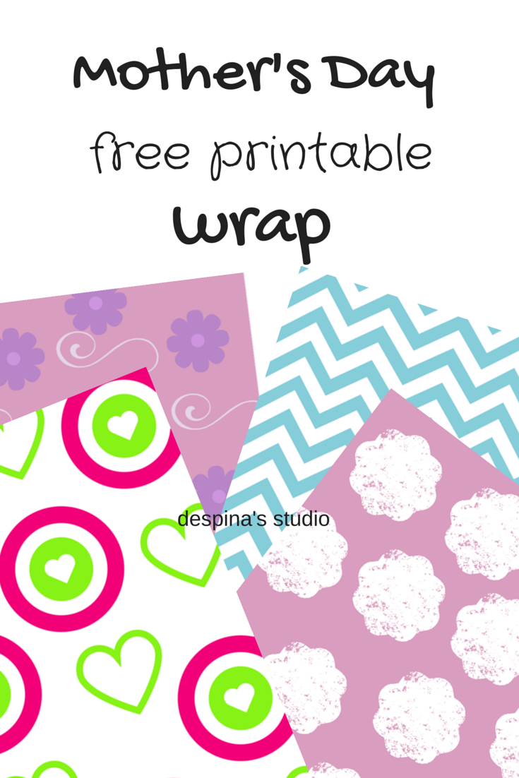 mother's day free printable wrap