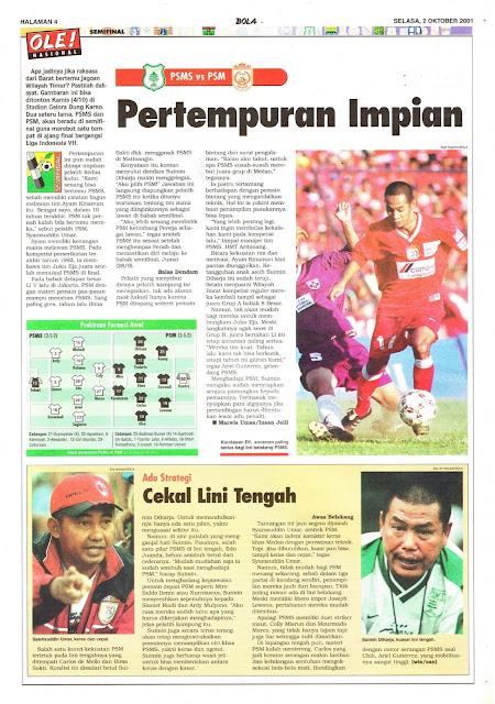 SEMIFINAL LIGA INDONESIA PSMS VS PSM