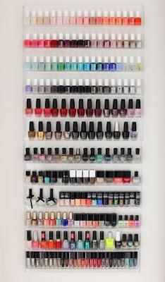 nail polish station