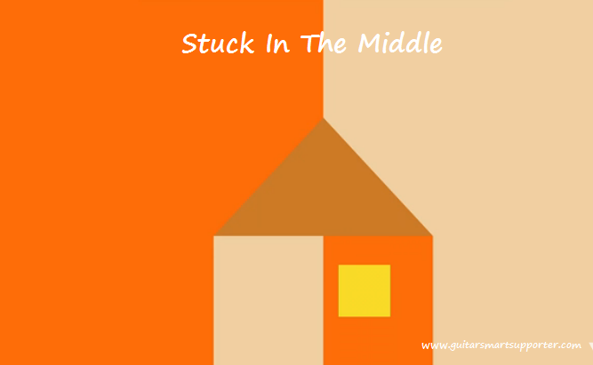 Stuck in the middle Guitar Chords with  Lyrics | Mike Posner