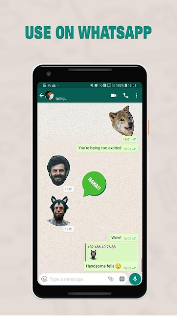 Custom WhatsApp Stickers