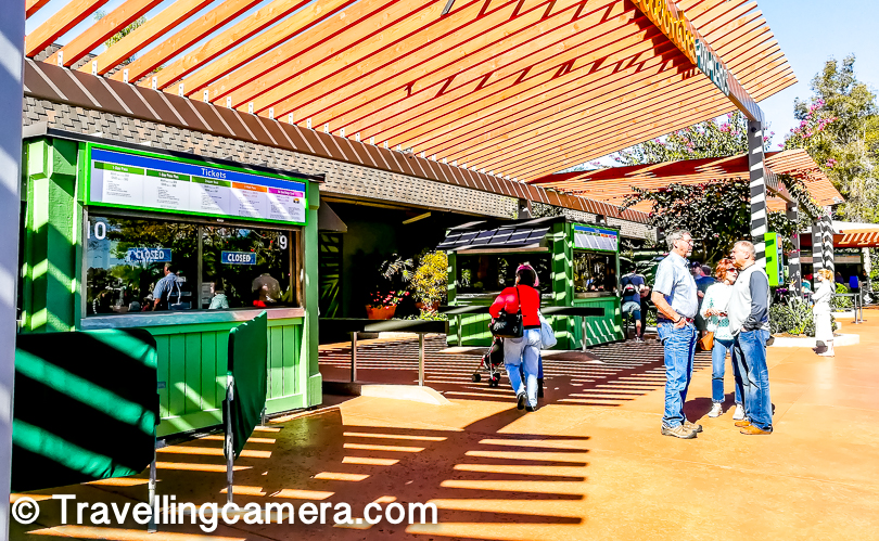 This was my first experience of Zoo outside India and the very first experience was enough to conclude that these Zoos are made and maintained in a very different way. More organized, technology driven and with sharp focus on upgrading things regularly. Above photograph shows the ticket counter area. If you already bought Go-Card you don't need to queue up here.