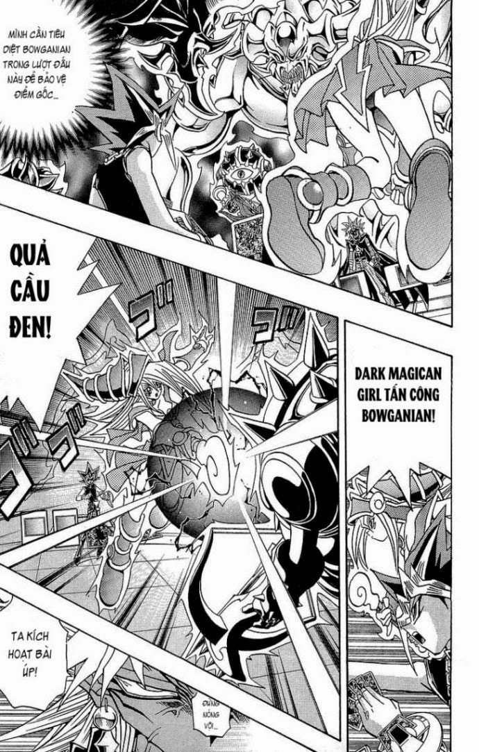 YUGI-OH! chap 272 - bất khả chiến bại trang 8
