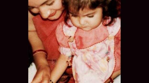 anushka sharma in her childhood