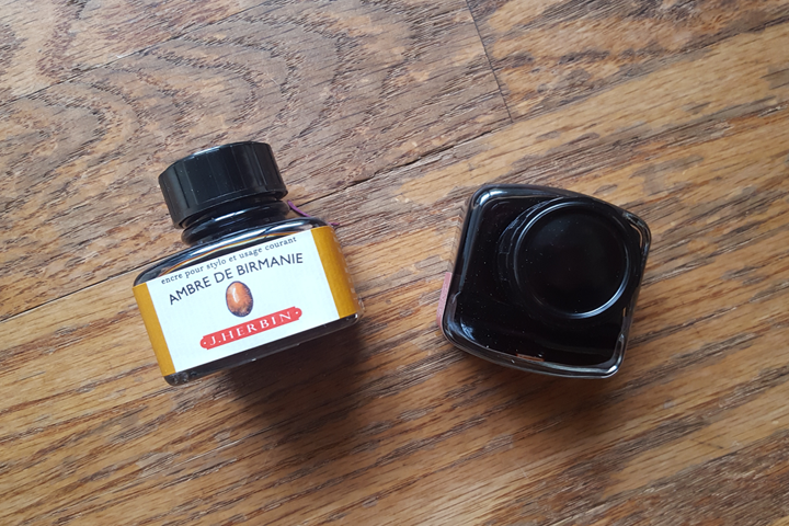 review: j. herbin ambre de birmanie