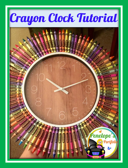 Crayon Clock Tutorial Who Should Check out This Tutorial? A parent wanting to…