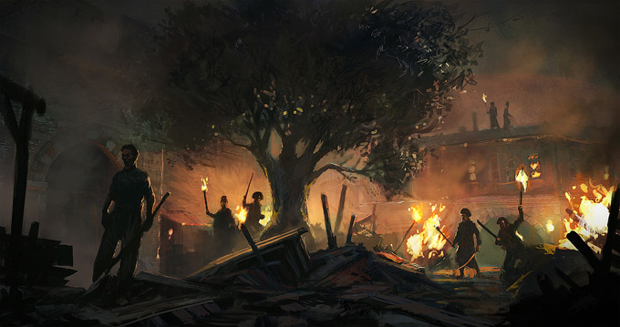 Gilles Beloeil para Assassin's Creed Revelations