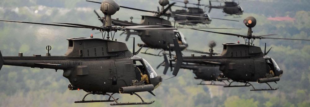 ТОП-10: Найпоширеніші військові гелікоптери світу