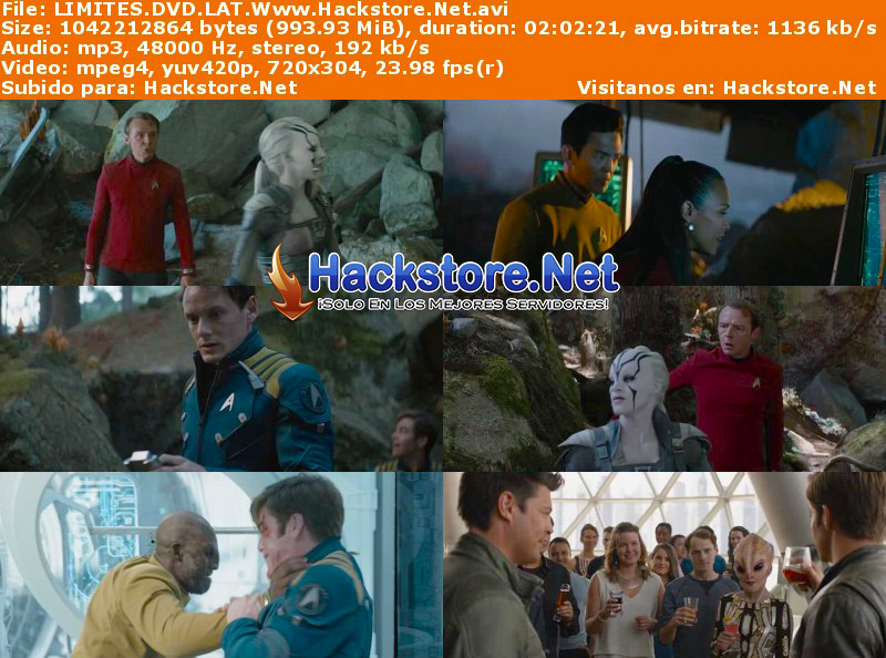 Capturas de Star Trek Sin Límites (2016) DVDRip Latino