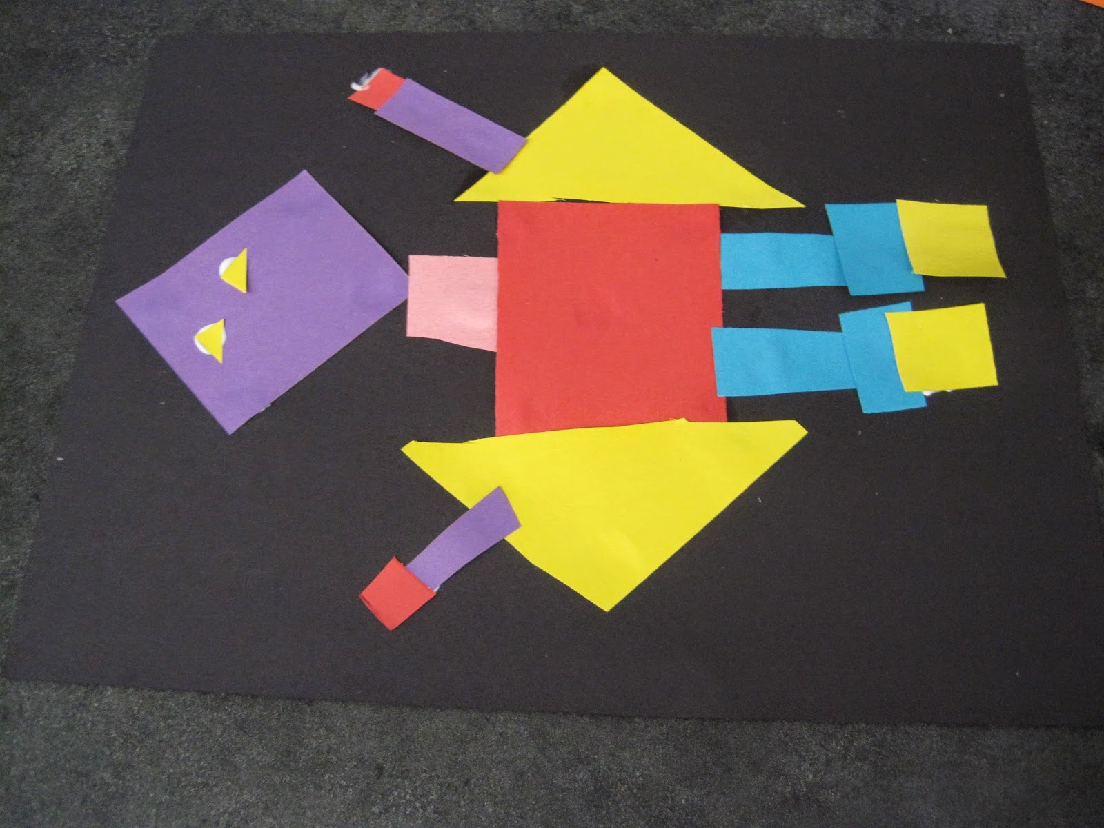 Elementary Shapes Students