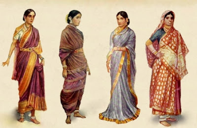 paris involvement in the journey of saree from common to designer saree.