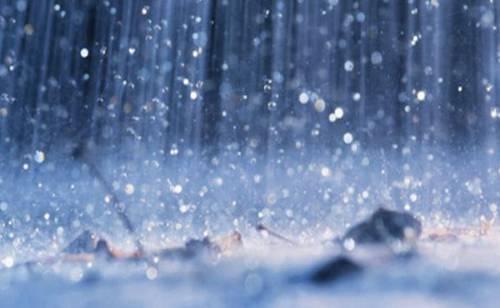 Sonhar com chuva fina