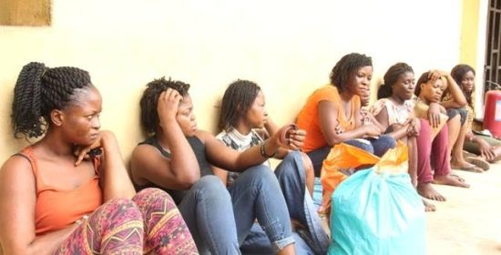 Lagos Special Committee on Clean Up of Ikoyi arrests miscreants (photos)