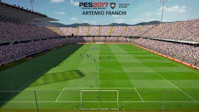 PES 2017 Stadium Artemio Franchi  by PES Mod Goip