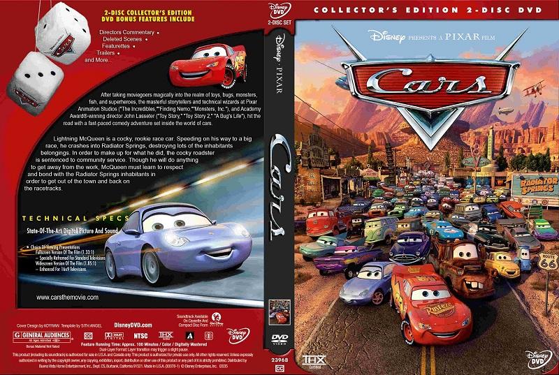 Full Pelis De Animacion Cars 1 2006 Dvdrip