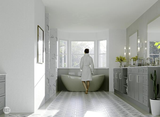 Bathroom Design, USA