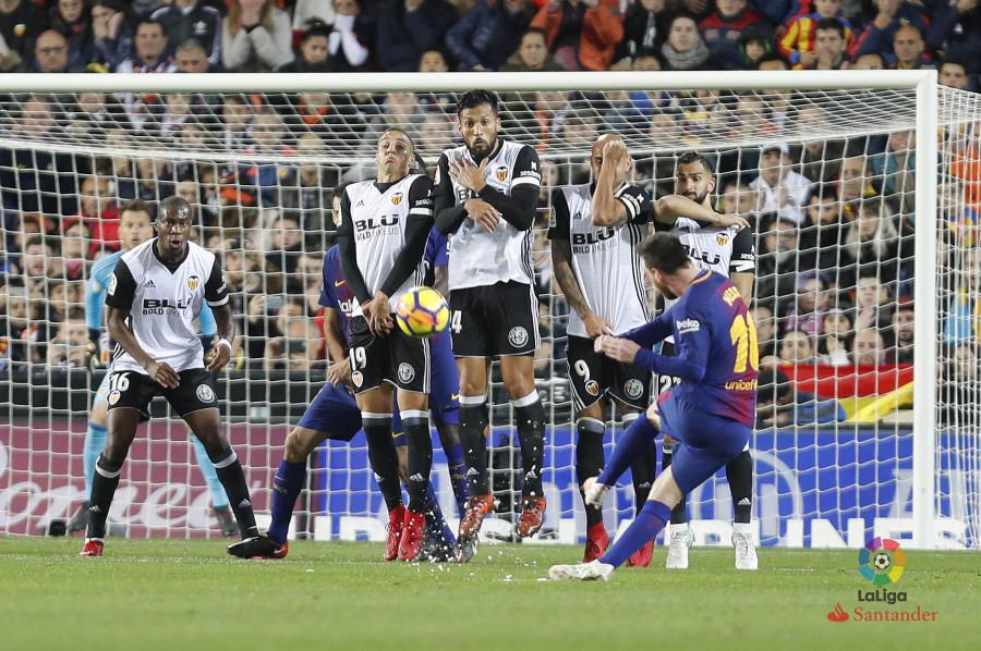 แทงบอล บาคาร่า ผลการแข่งขันระหว่างบาเลนเซีย Vs บาร์เซโลน่า