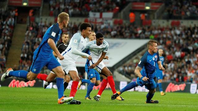 Sempat Tertinggal, Inggris Tundukkan Slovakia 2-1