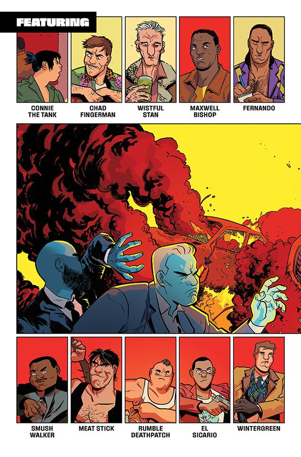 ASSASSIN NATION  image comics